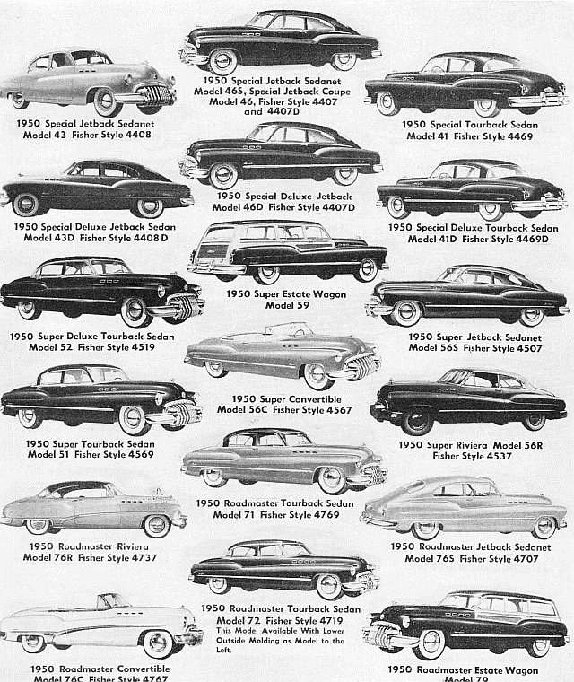 Identifying 1946 1953 Buick Automobiles Route 66 Hot Rod