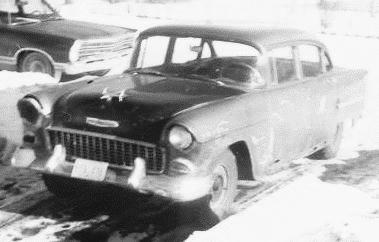 55 Chev as it was