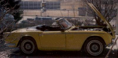 TR4A side view